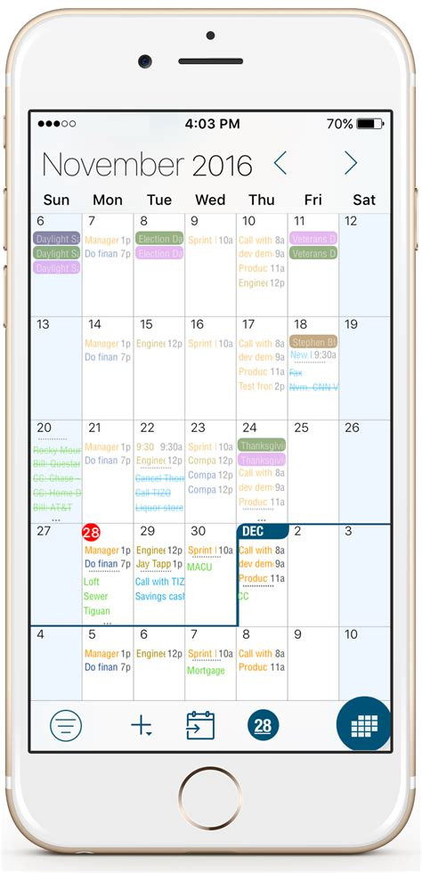 iphone calendar view calendar app for mac ios and android