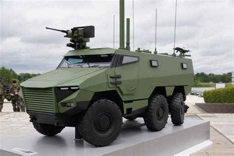 Marauder Armored Vehicle Cost by Vbmr Griffon