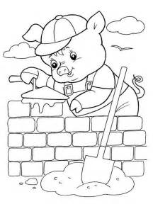 Three Little Pigs Printable Coloring