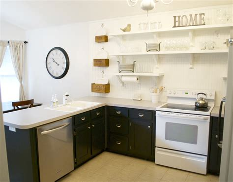 Remodelaholic  Kitchen Remodel, Removing Upper Cabinets. How To Make Kitchen Cabinets. Using Kitchen Cabinets For Home Office. Best Looking Kitchen Cabinets. Green Painted Kitchen Cabinets Pictures. Kitchen Cabinet Roller Shutter Doors. Paint Color Ideas For Kitchen With Oak Cabinets. How Tall Is A Kitchen Cabinet. Kitchen Cabinets Supplies