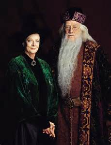 Harry Potter Professor McGonagall and Dumbledore