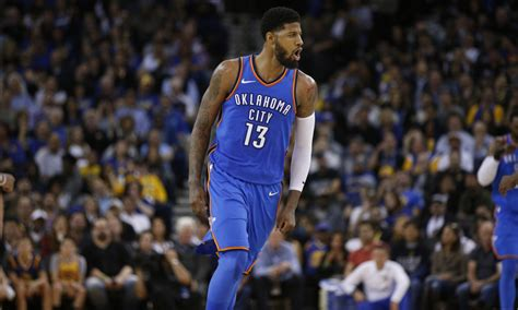 paul george  meeting  thunder front office tonight