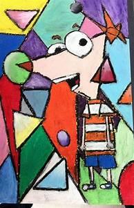 cubism pastel cubist 5th grade pastel