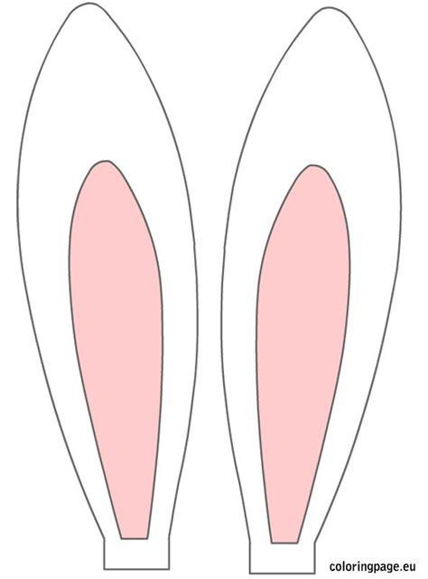 printable bunny ears easter rabbit ears easter