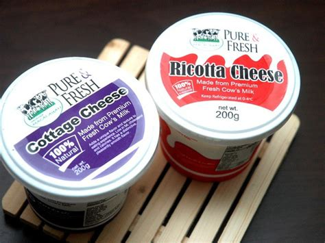 cottage cheese whey difference between cottage cheese and ricotta cheese