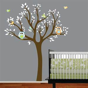 home improvements vinyl wall decal tree nursery tree With tree wall decal for nursery