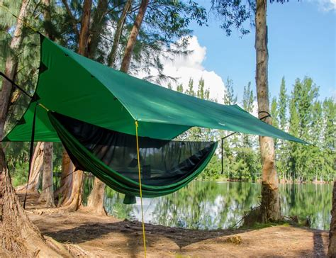 Decathlon Amaca by Apex Cing Shelter Hammock Cing Tarp For Everyone