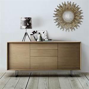 Buffet Haut Scandinave : meuble buffet design en bois brin d 39 ouest ~ Teatrodelosmanantiales.com Idées de Décoration