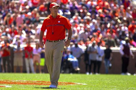 Look Football Coach At Clemson  Images