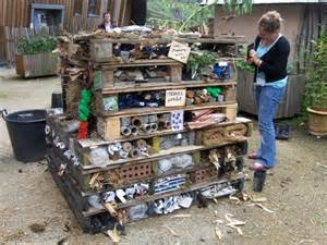 Build Your Own Nursery by Make An Insect Home Winter Garden Or Allotment Community
