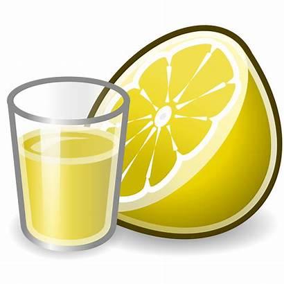 Juice Clipart Svg Tango Lemons Wikimedia Transparent