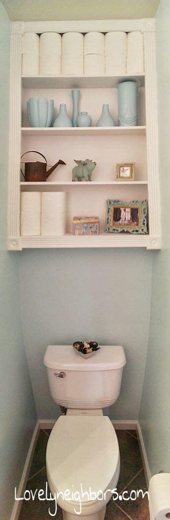 ideas  powder room storage  pinterest