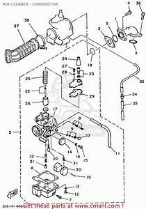 Yamaha Yfm80t Moto-4 1987 Air Cleaner