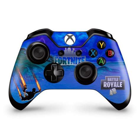 stormy sky  flame trails xbox  controller skin