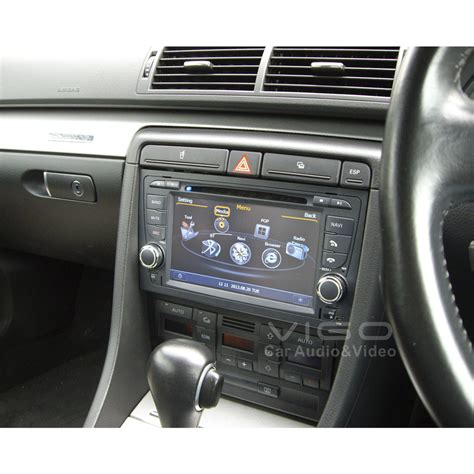 multimedia stereo for audi a4 s4 rs4 2002 2008 with car dvd gps navigation virtual 6 rds pip