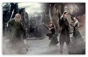 The Hobbit An Unexpected Journey 2 Elves 4K HD Desktop ...