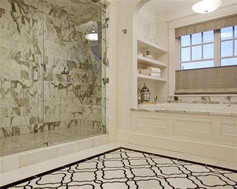 bathroom marble tile 30 great pictures and ideas basketweave bathroom floor tile