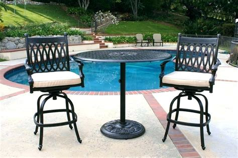 modern outdoor ideas lowes bistro patio set lowes tables