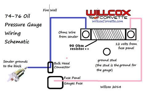 Oil Pressure Gauge Wiring Corvetteforum Chevrolet