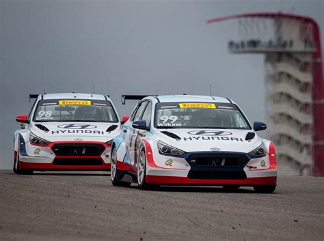 Wilkins Mazda Hyundai by Wilkins Gives Hyundai A Tcr Sweep In Speed Sport