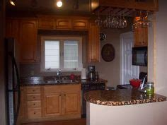 budget kitchen makeover diy faux marble countertops faux copper countertops she just painted the formica