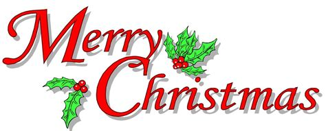 Merry Clip Merry Banner Backgrounds Free