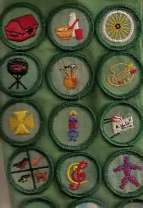 Vintage Girl Scout Badges