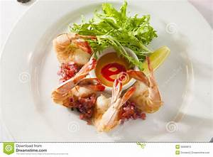 Fancy Shrimp Cocktail Appetizer. Royalty Free Stock Photo ...
