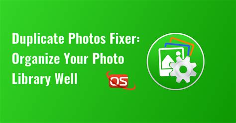 duplicate  fixer organize  photo library