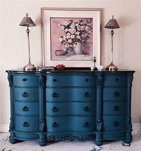 Commode Bleu Canard : les 25 meilleures id es de la cat gorie relooking meuble ancien sur pinterest customiser ~ Teatrodelosmanantiales.com Idées de Décoration