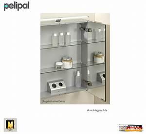 Spiegelschrank 60 Cm Hoch : pelipal neutraler spiegelschrank s5 60 cm mit led aufbauleuchte impulsbad ~ Bigdaddyawards.com Haus und Dekorationen