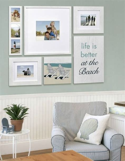 Living Room Decorating Ideas Picture Frames by Is Better At The Picture Frames Coastal Wall