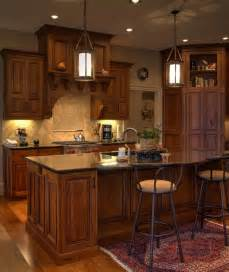 decorating above kitchen cabinets ideas rustic cherry inset cabinetry with stained and glazed