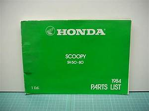 Parts Catolgue Sh 50  80 Scoopy