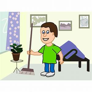 House Cleaning Cartoons - Cliparts.co