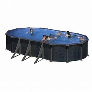 Sable Piscine Hors Sol : piscine hors sol rattan gre 730x375 h132 filtre sable ~ Farleysfitness.com Idées de Décoration