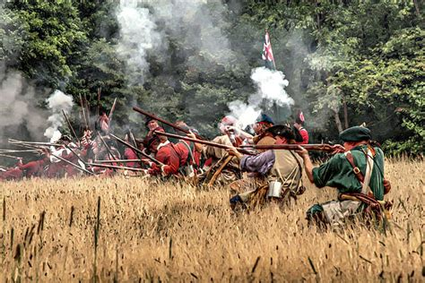 In The French Siege Lines  Fort William Henry, August 1757  Seven Years War Infantry, Cavalry