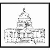 Capitol Coloring History Printable sketch template