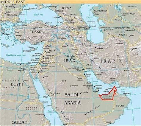 Vae Karte Emirate