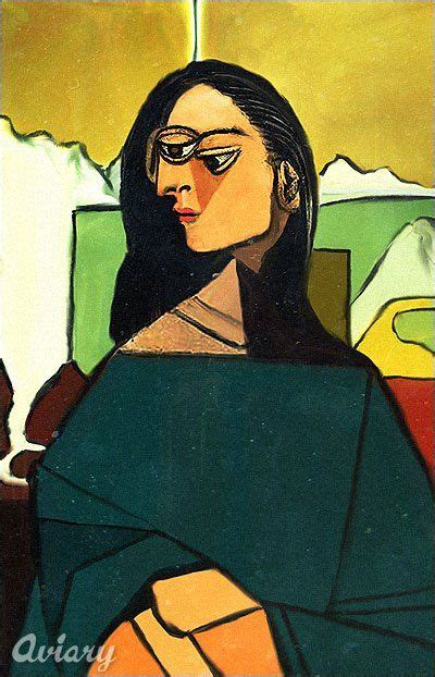 mona in the picasso style cubism pop by la gioconda cubism pablo