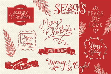 christmas overlays 2 graphic by the pen brush creative fabrica