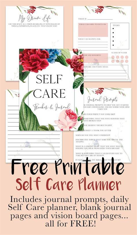care  printable  care planner  images