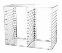 interesting acrylic cd rack clear acrylic cd tower or stackable cd holder holds 30cds ...