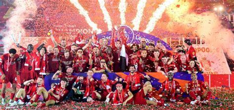 Alkass Digital - Liverpool lift Premier League trophy ...