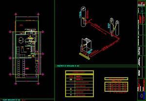 Gas Supply Installation  Isometric Dwg Block For Autocad  U2022 Designscad
