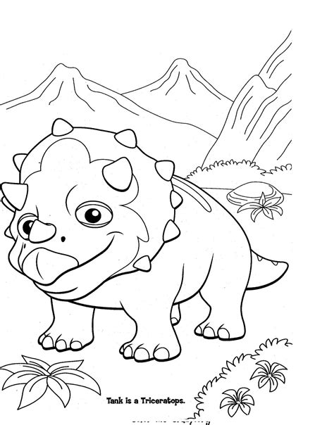 dinosaur train coloring pages dinosaurs pictures  facts