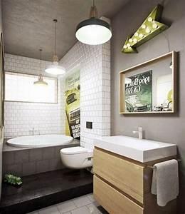 Subway tiles in 20 contemporary bathroom design ideas rilane for Bathroom design ideas tiles tiles and tiles