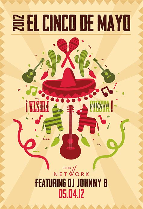 ticketnetwork template tn cinco de mayo 2012 poster on behance