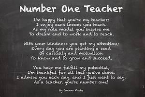 poems forteachers Teacher Appreciation Poems NonProfit