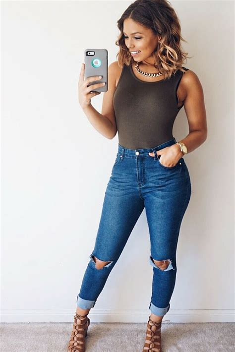 Outfit With Jeans For Summer